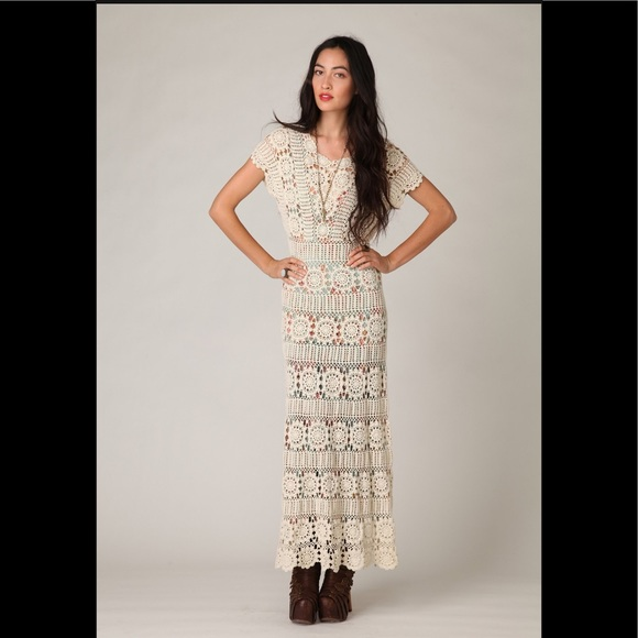 Crochet Maxi dress is a brilliant way of looking unique in a crowd