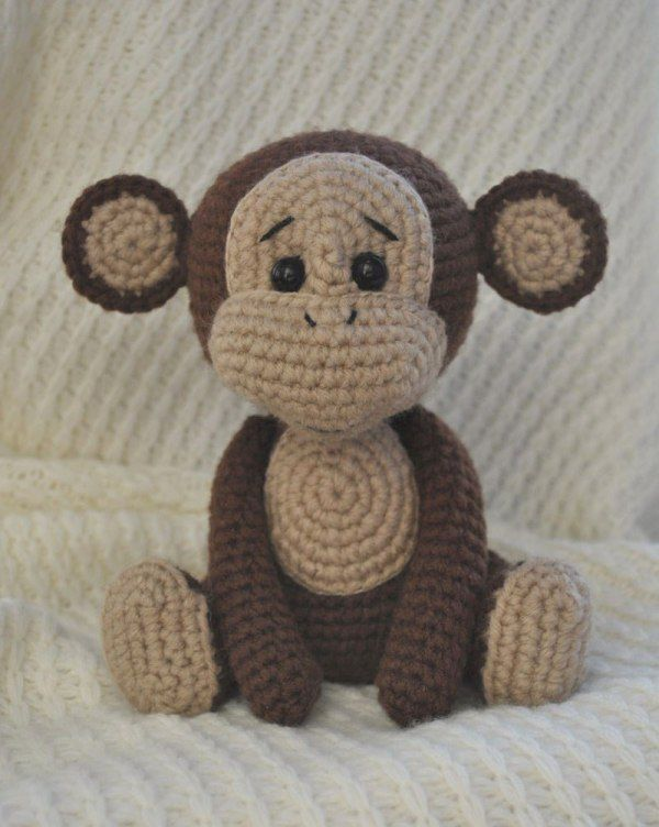 Naughty monkey amigurumi pattern | Crochet | Crochet patterns