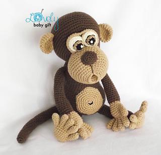 Ravelry: Amigurumi Monkey pattern by Viktorija Dineikiene