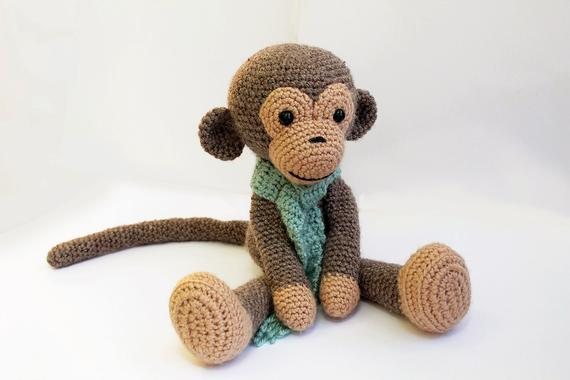 crochet PATTERN : Monkey Amigurumi Monkey pattern Crochet | Etsy
