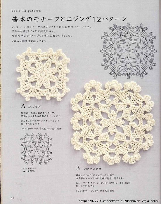 Importance of crochet motifs