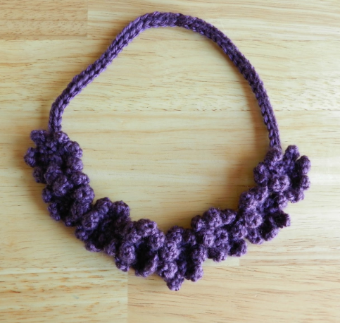 Crochet Flower Necklace Tutorial | AllFreeCrochet.com