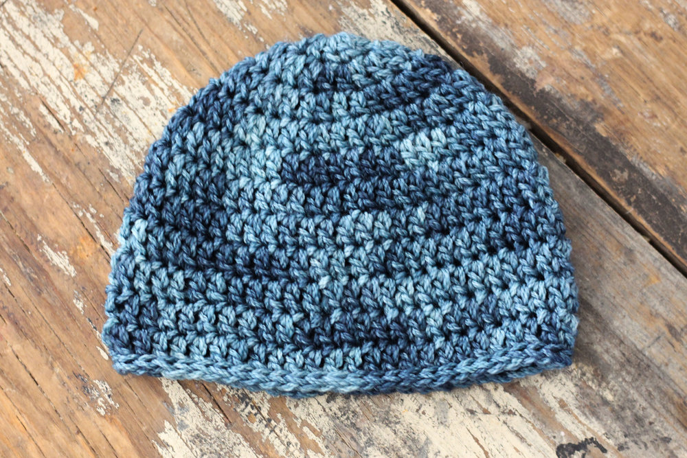 Basic Newborn Hat - Free Crochet Pattern u2014 Hooked On Tilly
