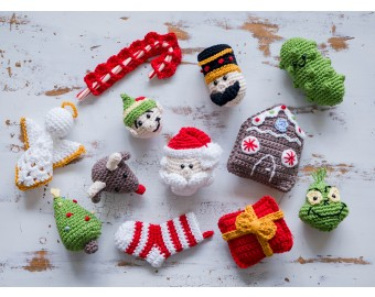 Crochet Kit - Christmas Ornaments | Lion Brand Yarn