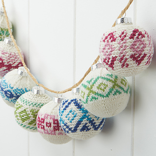 Ravelry: Frosted Crochet Ornaments pattern by Rae Blackledge