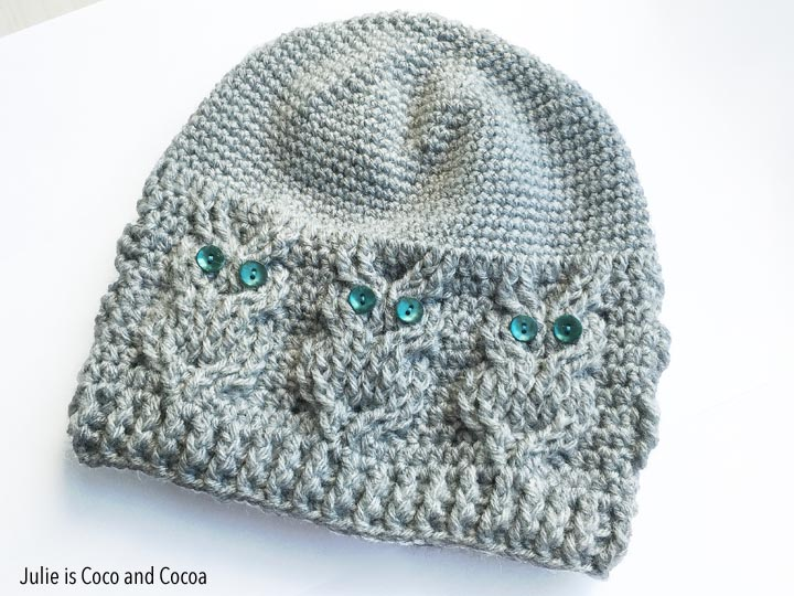 Owl Hat Crochet Pattern - Julie Measures