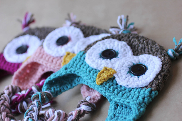 Ravelry: Owl Hat pattern by Sarah Zimmerman
