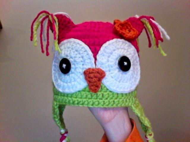 Knotty Knotty Crochet: Hoot Hoot! Owl hat FREE PATTERN!!