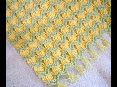 Crochet Patterns| for free |lacy baby blanket crochet pattern| 1236