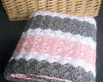 Crochet baby blanket pattern | Etsy