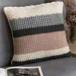 A crochet pillow for a good nights sleep