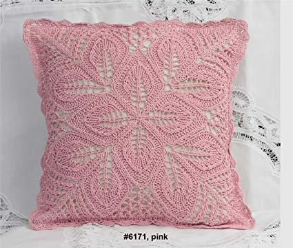 Amazon.com: Cotton Crochet Pillow Cushion COVER 16x16