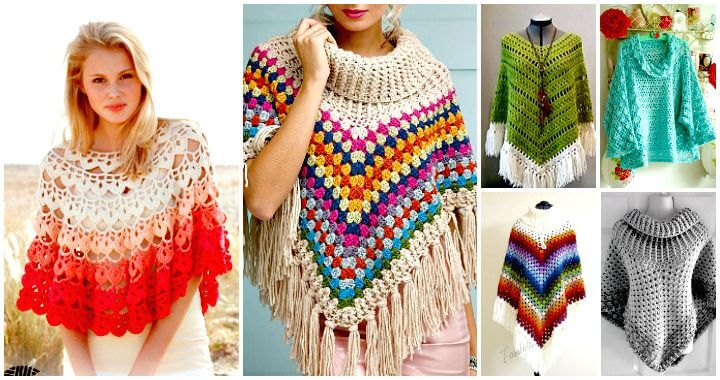 TIPS ON SELECTING A CROCHET PONCHO   PATTERN FOR EVERYDAY OUTFITS
