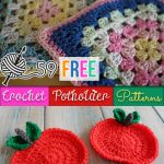 VARIED VARIETIES OF CROCHET POTHOLDER   PATTERN
