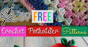 59 Free Crochet Potholder Patterns | Guide Patterns