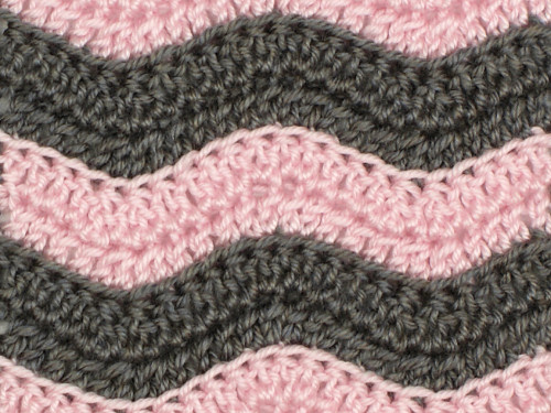 Granny's favourite ripple crochet pattern - Crochet and Knitting