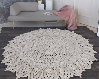 Crochet rug | Etsy