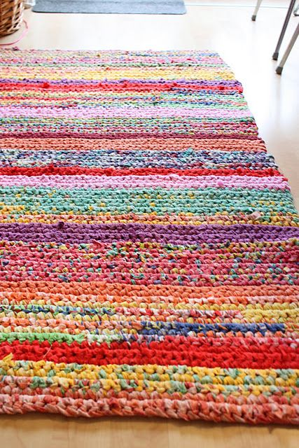 crochet rug | Projects to Try | Crochet, Crochet home, Rugs