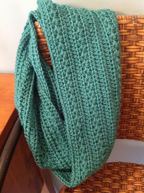 Ravelry: Project Gallery for Pumpkin Infinity Scarf pattern by