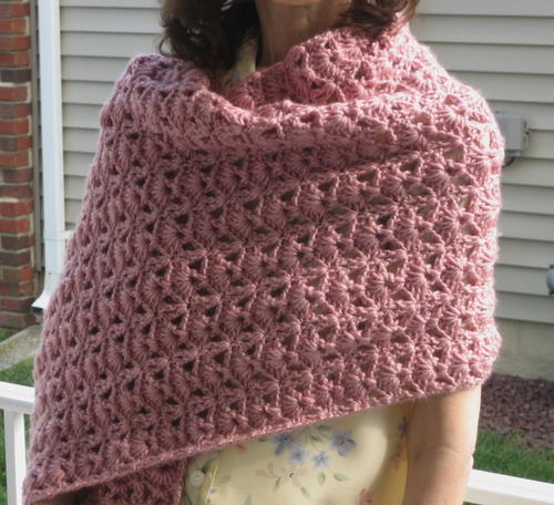 Princess Diana Vintage Crochet Shawl Pattern | AllFreeCrochet.com
