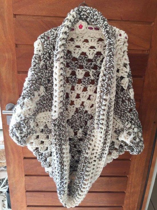 Crochet Cocoon Shrug Pattern Ideas | My hobby is crochet