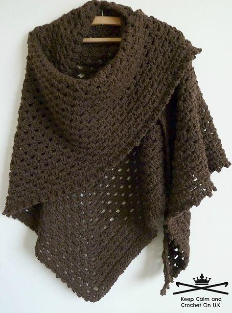 DIY Crochet Lace Jacket Pattern Ideas | Shawls, Wraps & Ponchos
