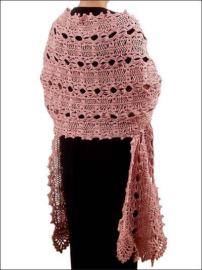 Crocheting Shawls with Sock Yarn | Free-Crochet Ideas