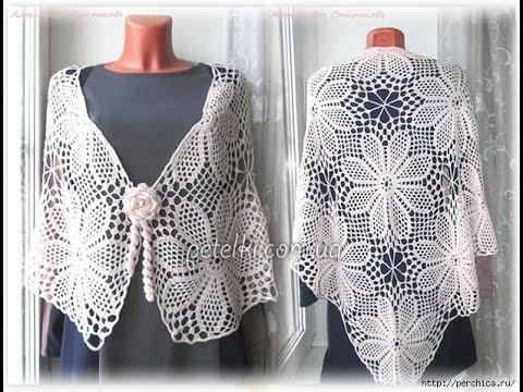 Crochet shawl| free |crochet patterns| 324 - YouTube