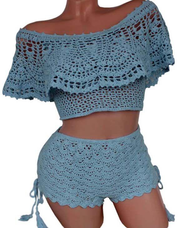 Love Crochet Top New Style 2018 | Dress Variety | Crochet, Crochet