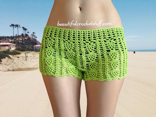 Free Crochet Shorts Pattern | AllFreeCrochet.com