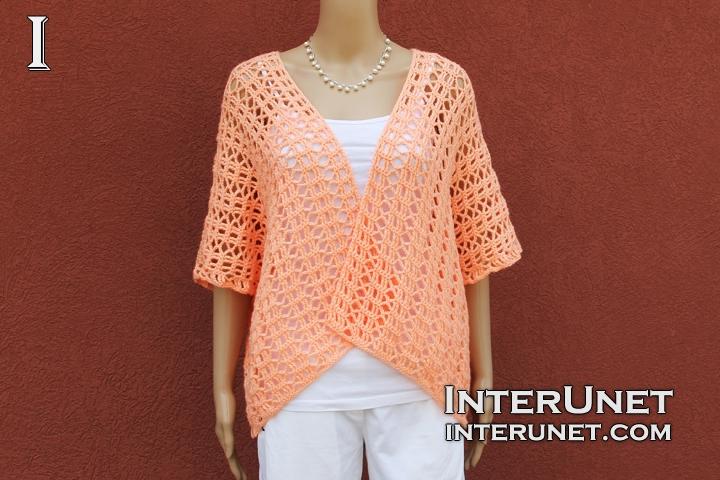 Crochet shrug pattern | interunet