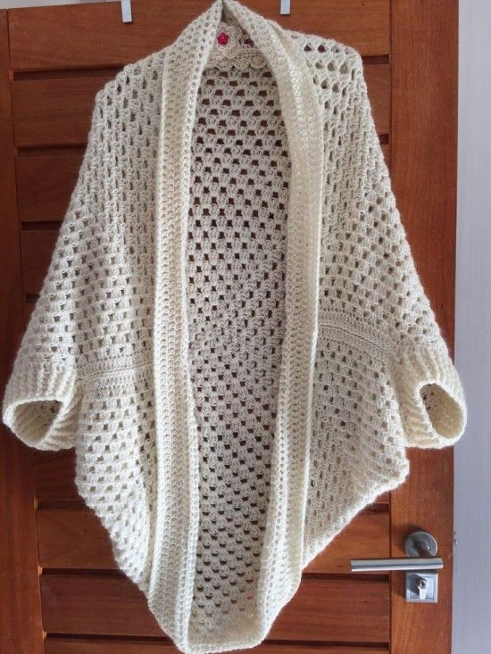 Crochet Cocoon Shrug Pattern Ideas | Crochet | Crochet, Crochet