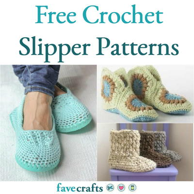 The best guide on available crochet   slipper pattern