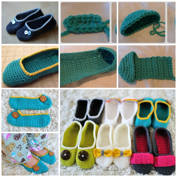 Wonderful DIY Cozy Crochet Slippers With Free Pattern