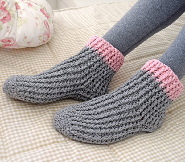 Crochet sock pattern | Free Crochet Patterns