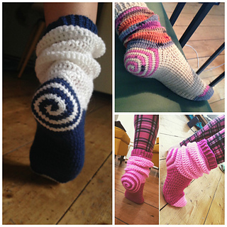 Ravelry: Spiral Socks pattern by Ooh I love it!