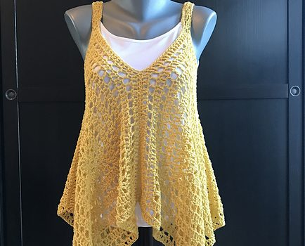 Very Easy And So Fabulous Crochet Tank Top Free Pattern - Knit And