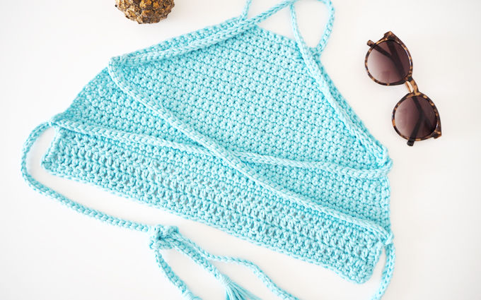 DIY | How To Crochet Top Tutorial - Made Up Style