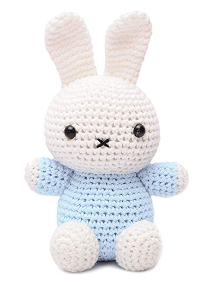 Amazon.com: Miffy Bunny Animal Handmade Amigurumi Stuffed Toy