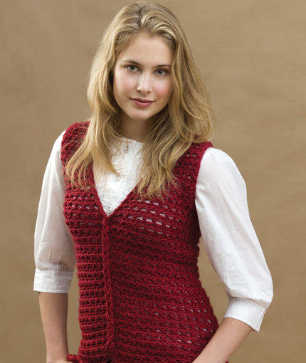 14 Crochet Vest Patterns   Guide Patterns