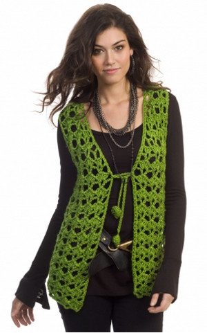 Holiday Hippie Vest Pattern | AllFreeCrochet.com