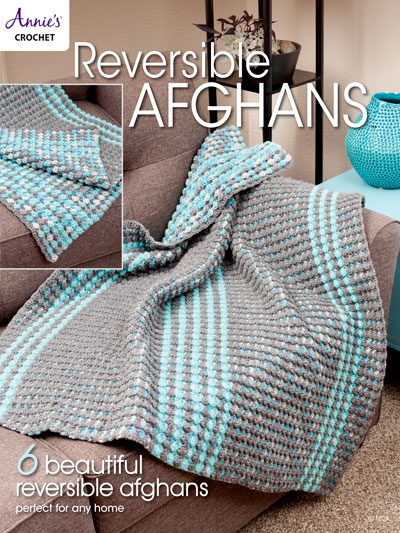 Crochet Afghan Patterns - Reversible Afghans Crochet Pattern Book