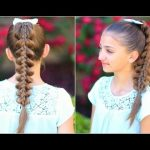 Elegantly change the look of your girls   with some latest cute girls hairstyles