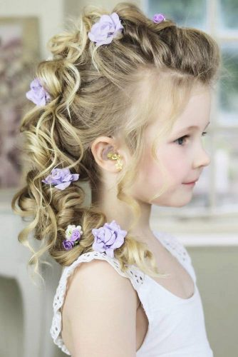 46 CUTE GIRLS HAIRSTYLES FOR YOUR LITTLE PRINCESS u2013 My Stylish Zoo