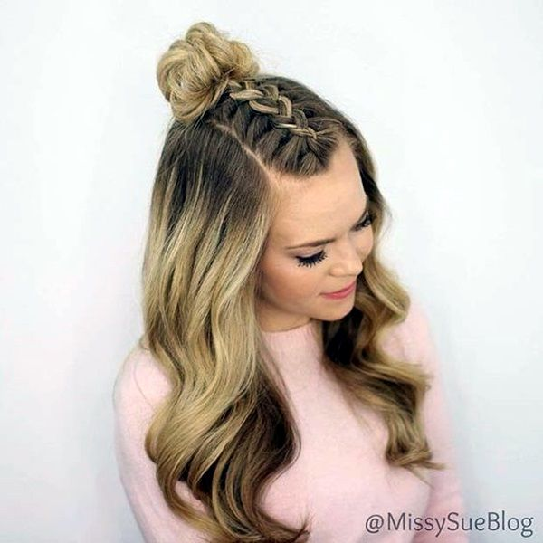 65 Quick and Easy Back to School Hairstyles for 2017 | Homecoming