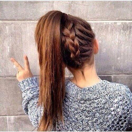 10 Super-Trendy Easy Hairstyles for School | hair | Hair styles