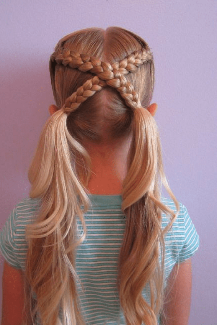 20 Cute Girls Hairstyles | Get Your Kids Ready for a Fun School Time