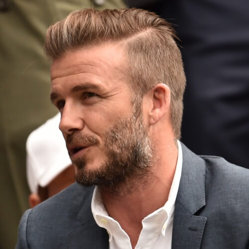 50 Irresistible David Beckham Hairstyles - Men Hairstyles World