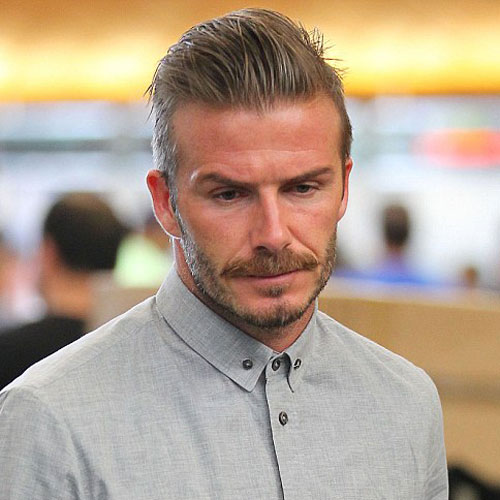 David Beckham Hairstyles | Men's Hairstyles + Haircuts 2019