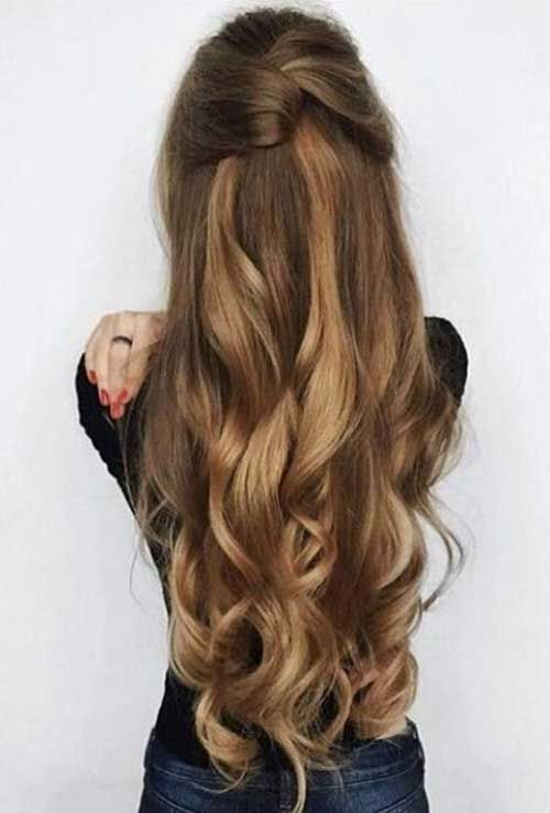 20 Stylish Easy Updos for Long Hair | successful hairz | Pinterest